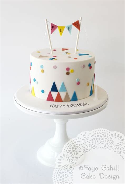 Birthday Decoration Ideas At Home For Boy coolest first birthday cakes for your little one
