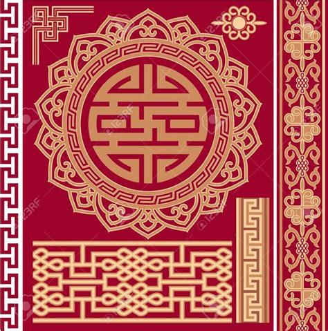set of oriental design elements stock vector image 22896967 12826022 set of oriental chinese design elements stock