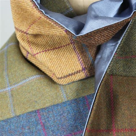 Tweed Patchwork - patchwork tweed scarf timothy foxx