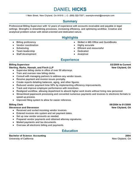 Resume Example For Retail by Legal Billing Clerk Resume Example Law Sample Resumes