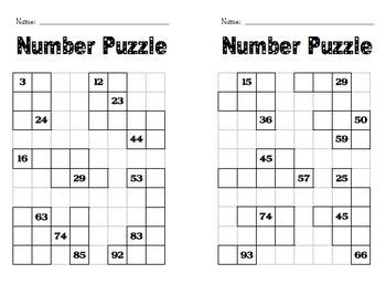 best 25 number puzzles ideas on