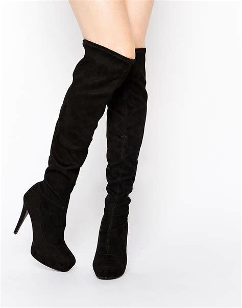knee high heel boot knee high heel boots the sexiest ways to wear them