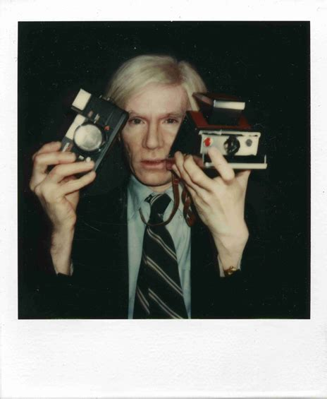 andy warhol polaroids andy warhol was the king of selfies and he didn t even