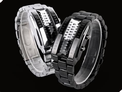 Jam Tangan Pria Quartz Led Tahan Air 30m Weide Wh5206 Stainless Steel skmei jam tangan led pria 1035a white