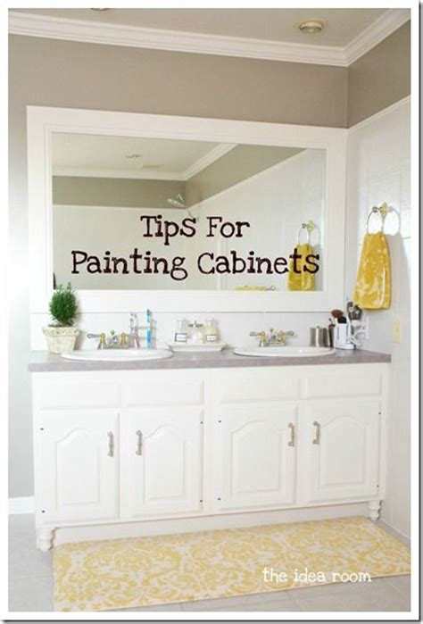 tips on painting kitchen cabinets tips for painting your cabinets home bathroom pinterest