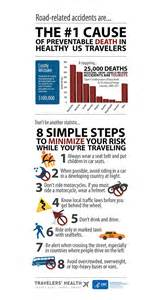 infographic road safety 8 simple steps travelers