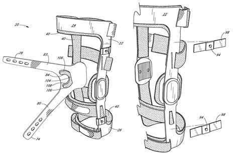 design of rigid frame knees patent us7867183 knee brace having a rigid frame and