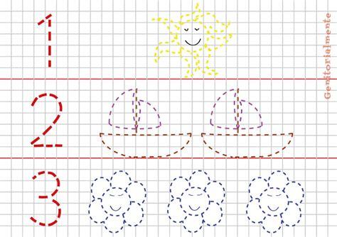 schede pregrafismo lettere giochi di pregrafismo prescrittura numeri genitorialmente