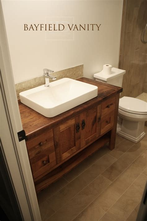 reclaimed wood furniture vanities hd threshing