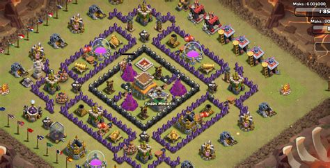 unstoppable war town hall 8 base town hall 8 clash of clans war base www pixshark com