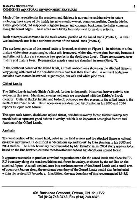 Environmental Report Template Report Template