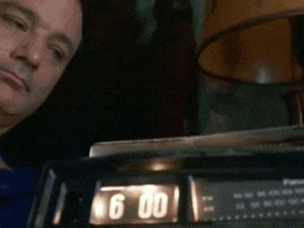groundhog day alarm clock gif clock alarm gif find on giphy