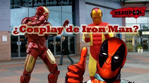 speed paintcosplay de iron man deadpool youtube