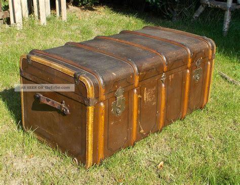 alter 220 berseekoffer koffer truhe reisekoffer kofferschrank