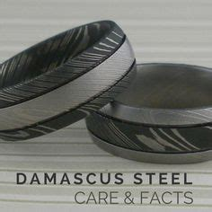 damascus steel care damascus steel ring with anodized titanium interior sleeve custom made damascus steel