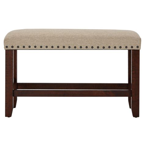 high bench city furniture jax dark tone high table 4 barstools