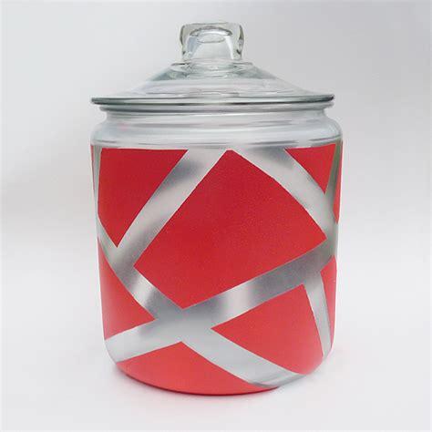 jar jar rule pattern paint a geometric apothecary jar 187 dollar store crafts