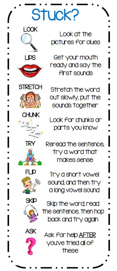 printable bookmarks with reading strategies reading strategies 1st grade with mrs topp