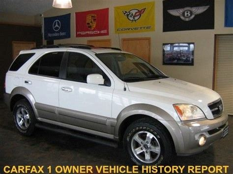 2003 Kia Sorento 4x4 Sell Used 2003 Kia Sorento Ex 4x4 Heated Leather Cd Sun
