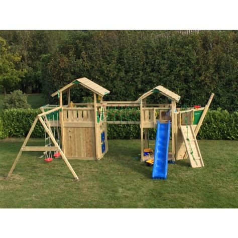 swing set with fireman pole jungle gym chalet cottage boat playhouse mod swing mod