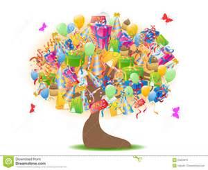 birthday gifts tree royalty free stock photo image 22421875