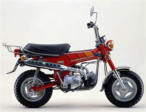 Aufkleber Honda Dax by Honda Dax 1969 1999 Motorrad F 252 R Die Westentasche