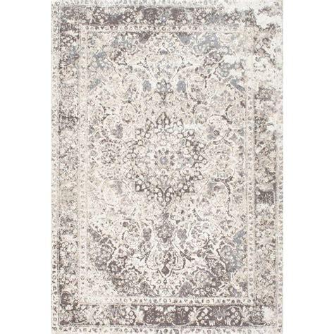 4 foot rugs nuloom vintage verdell medallion beige 4 ft x 6 ft area