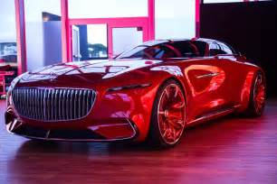 mercedes new concept car vision mercedes maybach 6 concept car