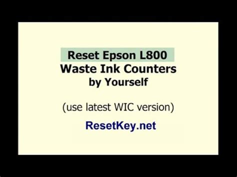 reset l800 manual how to fix red light blinking error in all epson l series
