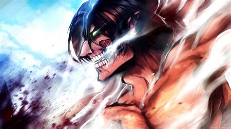 anime attack on titan eren rogue titan anime 6c wallpaper hd