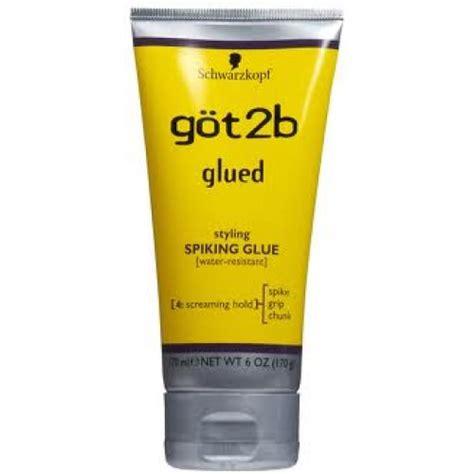 styling gel got2b gel got2b glued styling spiking glue 170ml duquesahair