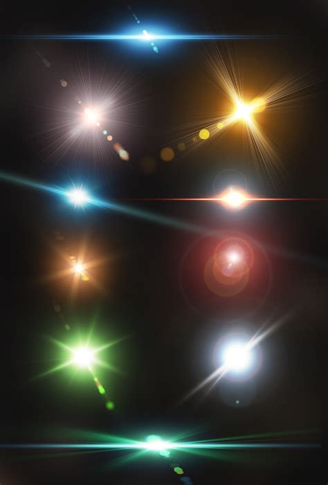 The Magic Of Adobe Photoshop 66 Tutorial Ed Revisi Ke 2 Dvd 1 10 optical lens flares pack 2 by artistmef thehungryjpeg