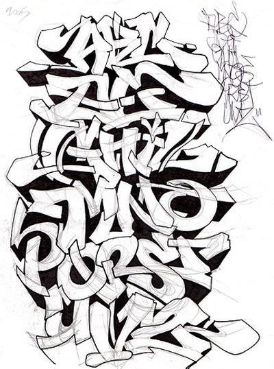 graffiti alphabet  graffiti art