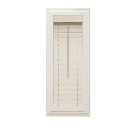 home decorators collection 2 inch faux wood blinds home decorators collection beige 2 in faux wood blind