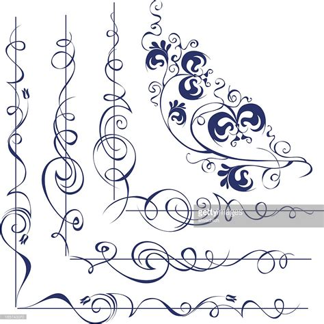 Decorative Corner by Decorative Corners Vector Getty Images