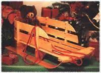 sleigh woodworking plan  wood magazine