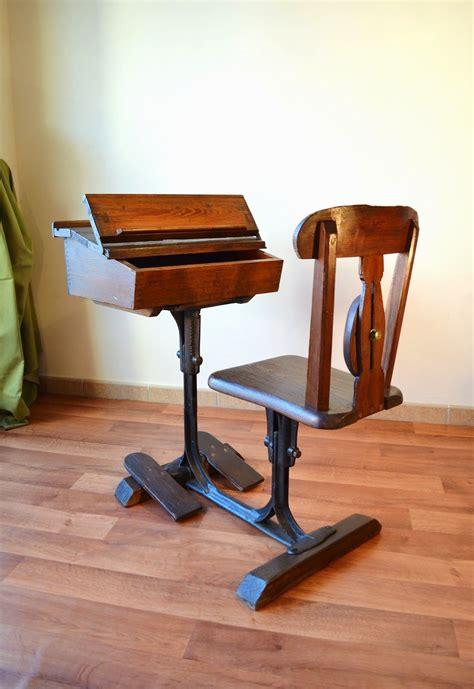 escritorio and pupitre t 225 bano vintage pupitre escritorio de escuela de 201 poca