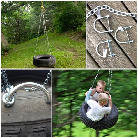 diy tire swing diy old fashioned tire swing usefuldiy com