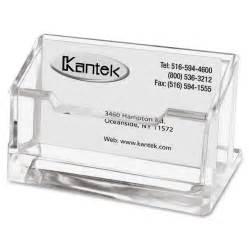 acrylic business card ktkad30 kantek acrylic business card holder office