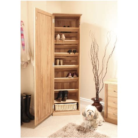 Bedroom Window Seat Ideas mobel solid oak tall shoe cupboard hallway hall storage