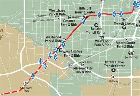 houston hov map hov lanes us 59 south southwest freeway access