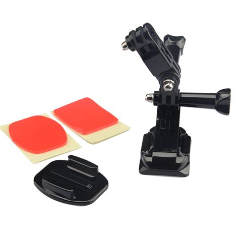 Helmet Mount For Xiaomi Yi And Gopro Helm Gopro Helmet Front Mount For Xiaomi Yi Xiaomi Yi 2 4k Gopro