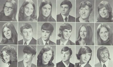 Hairstyle Classes In Tx by 1973 Hair In The Yearbook Of Craig High School In