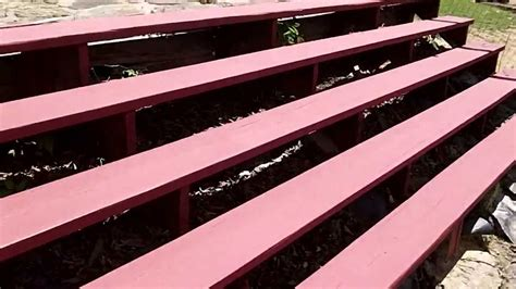 Remove Textured Paint - behr deckover part 2 2nd coat results color barn red youtube