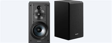 stereo bookshelf speakers ss cs5 sony us