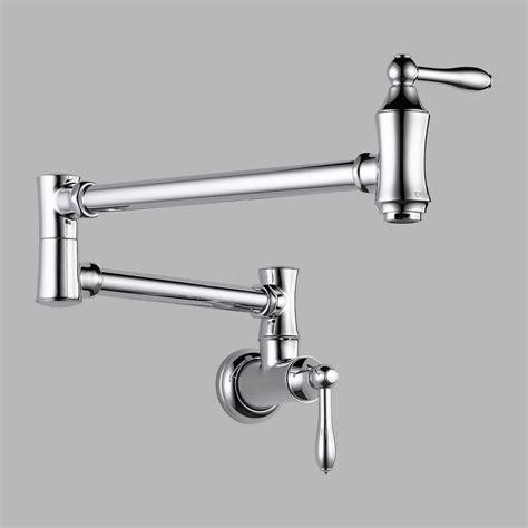 Delta Pot Filler Faucet by Delta 1177lf Pot Filler Faucet Wall Mount Chrome Ebay