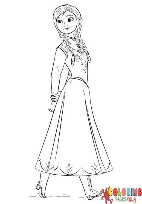 elsa and anna halloween coloring pages princess frozen anna coloring page free coloring pages