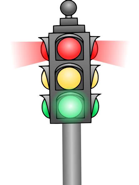 Traffic Light Clip Art At Clker Com Vector Clip Art Animated Traffic Light
