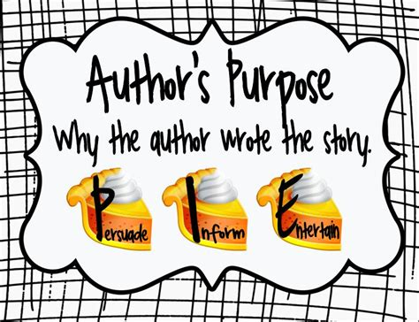 the s purpose the picture book s edition the importance of author s purpose