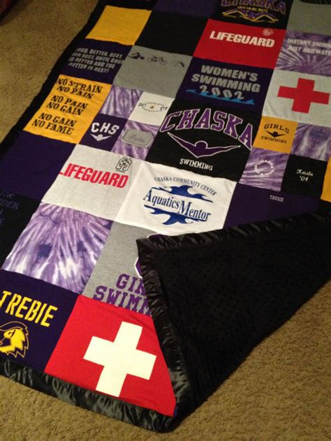 T Shirt Quilt Fleece Backing custom t shirt blanket extras fleece backing